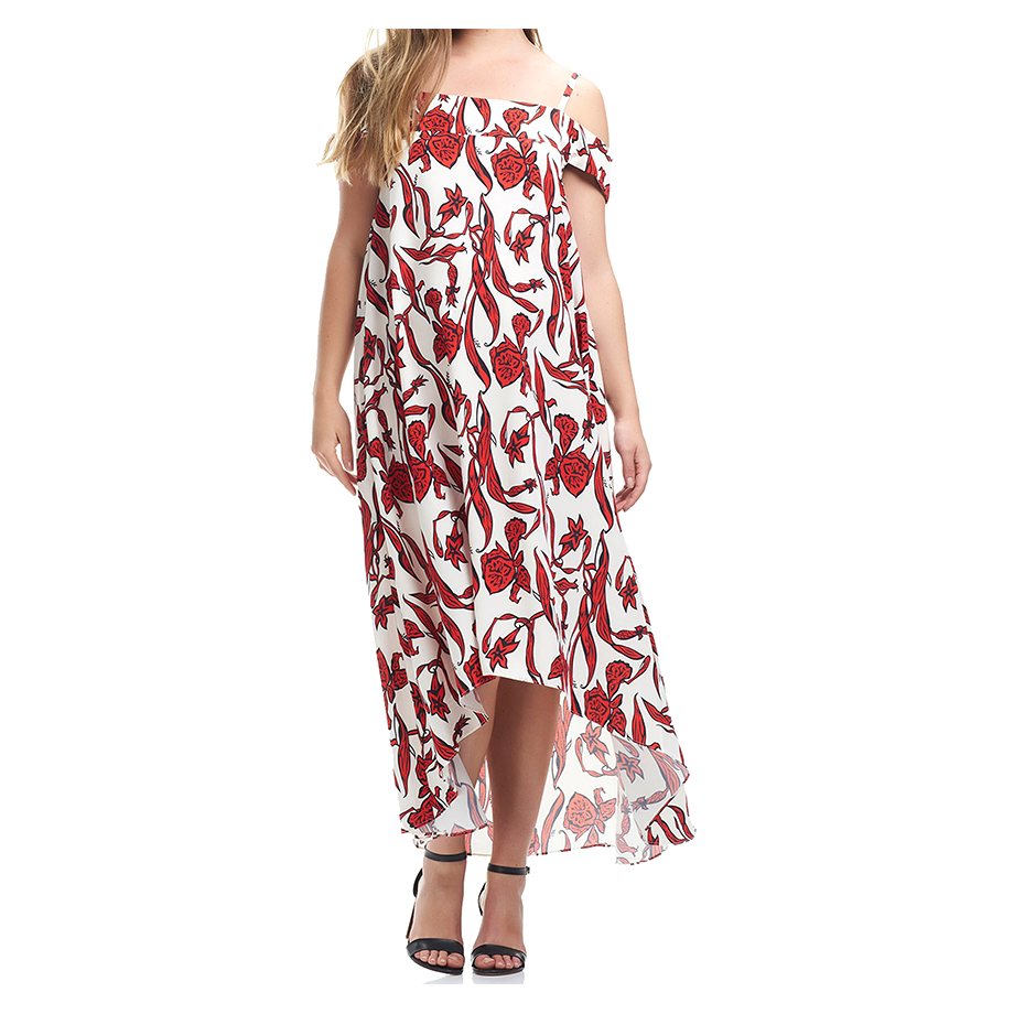 Mums & Bumps Soon Maternity Candice Cold Shoulder Maternity Dress