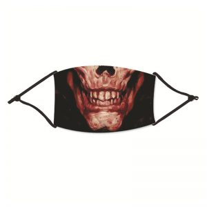 Halloween Ghost Print Washable Reusable Cotton Face Mask