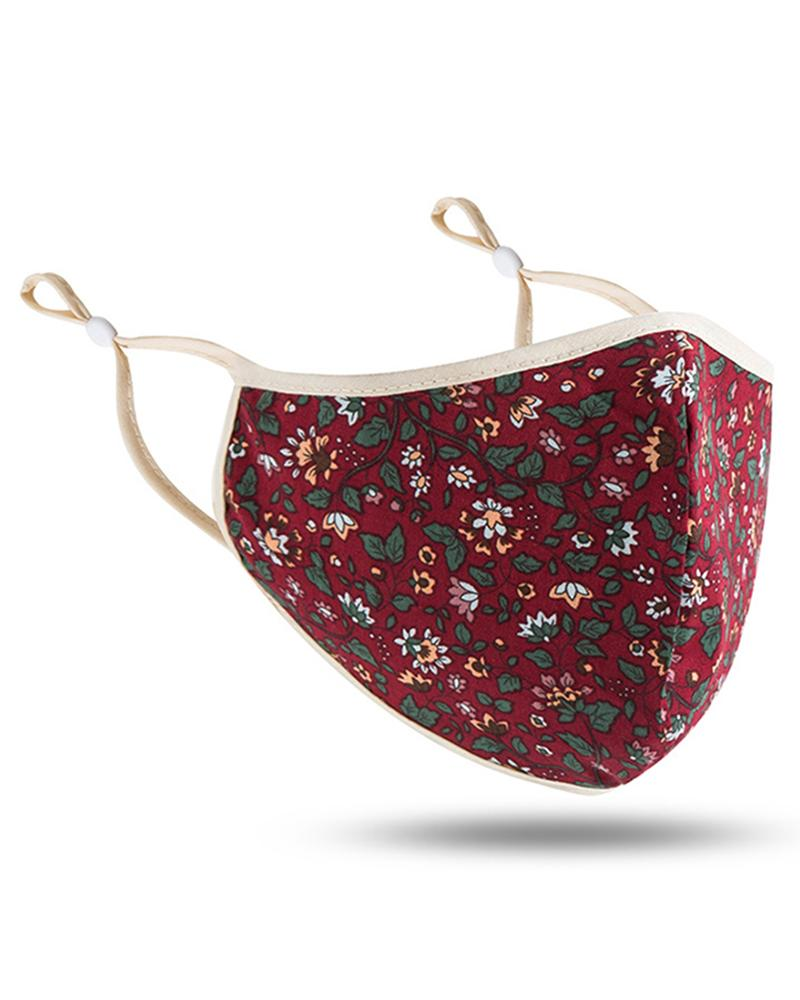 Ditsy Floral Print Breathable Face Mask