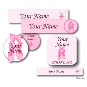 Ladybug Labels Back To School Pack Ballet