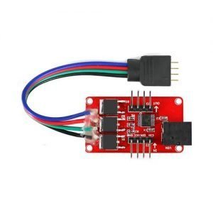 Colorful RGB LED Strip Driver Module with DC Jack for Arduino
