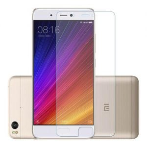 Makibes Toughened Glass 0.33mm Screen Protector Film Cover Arc Edge For Xiaomi Mi 5S - Transparent