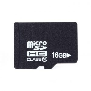 Flash Memory TF 16GB Micro SD Card with Adapter and Package