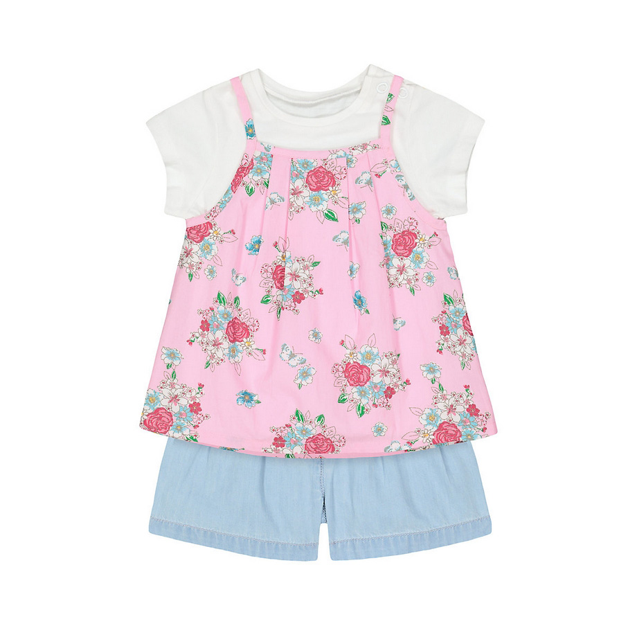 Mothercare Mg Ditsy Woven