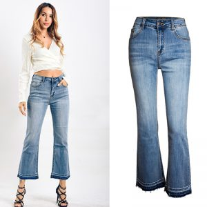 Pretty Highwaist Jeans Bell-bottomed pants For women